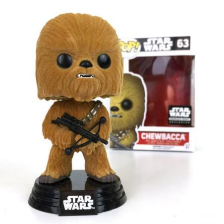 chewbacca flocked pop