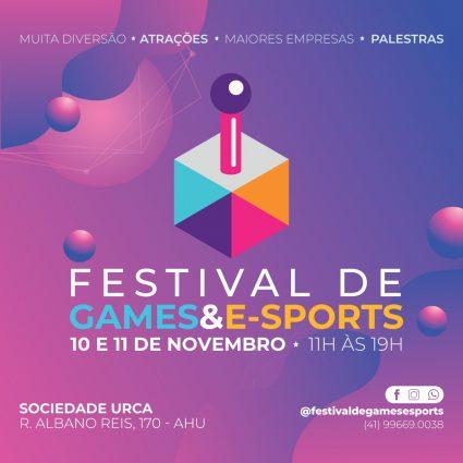 Festival de Games & e-Sports Curitiba