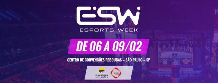 Esports Week terá debate sobre como inserir os esports na formação acadêmica brasileira