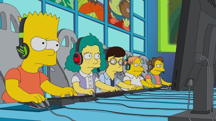 Simpsons ganha episódio focado em esports