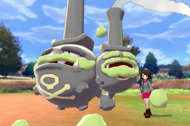 Galar Form Weezing