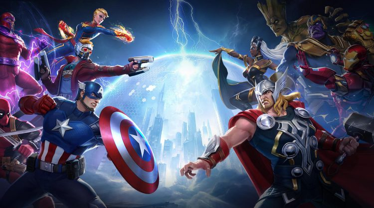 Marvel Super War adapta os personagens dos gibis ao MOBA